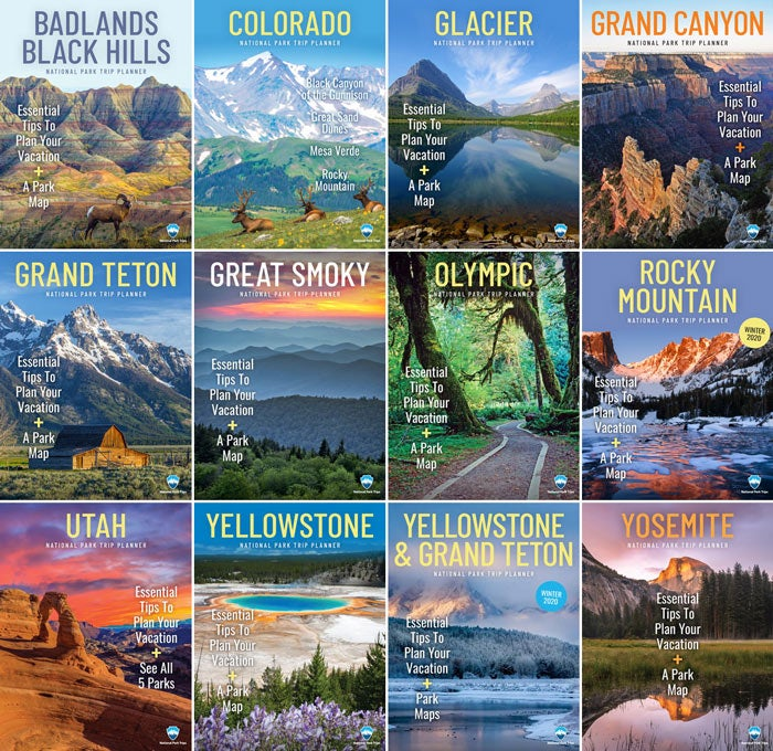 Free National Park Trip Planning Kits